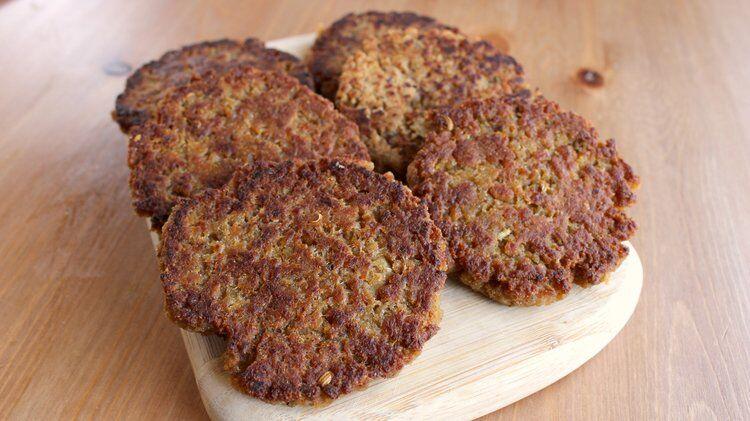 Vegan Breakfast Sausage With Tvp Sarah S Vegan Kitchen